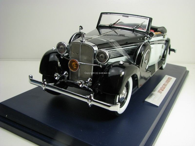 Maybach SW38 1937 2 - Doors Spohn 1:18 Signature Models